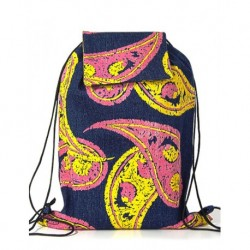 Ve Design Paisley jeans Backpack
