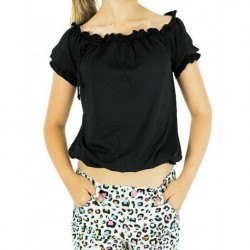 Black Bowl Blouse