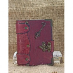 Leather Covered Red Small Book