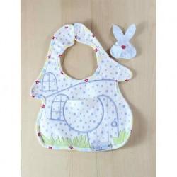 Bebek Önlüğü Tavşan Çıngıraklı
