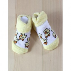 Yellow Baby Socks