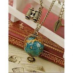 World-Shaped Long Necklace
