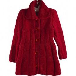 Bebek Paltosu Kırmızı Renk