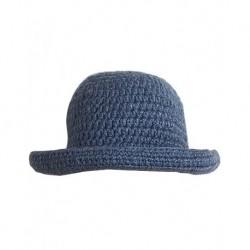 Bayan Şapka Mavi Renk