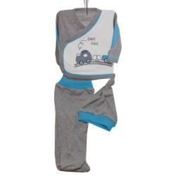 Hospital Outlet for Babies Blue Set of 3