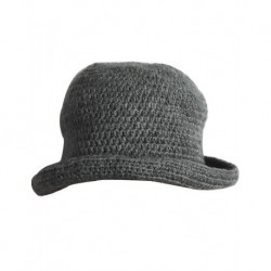 Bayan Şapka Gri Renk