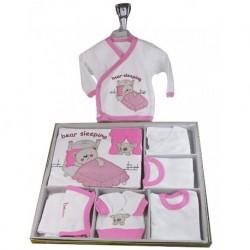 Hospital Outlet Pink 11 Piece Set For Babies