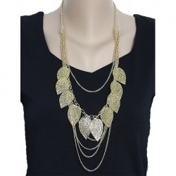 Leaves Model Chain Necklace