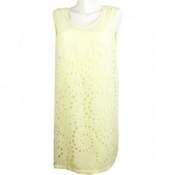 Yellow Dress By Zara