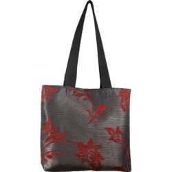 Design Red Textured Bags