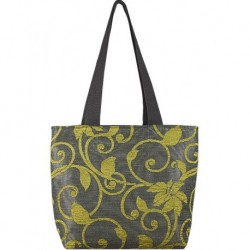 Design Textured Design Green Bag