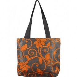 Design Textured Orange Bag