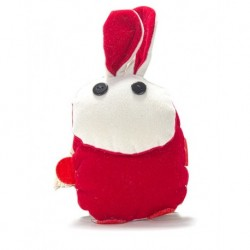 We Pufi Rabbit Shaped Keychain