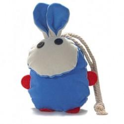 We Pufi Rabbit Shaped Keychain