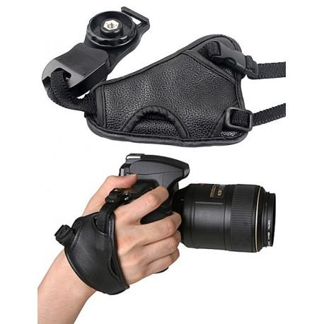 PU Deri Kamera İçin Bilek El Kayışı Unisex