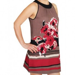 Elbise Kırmızı Çiçekli Zero