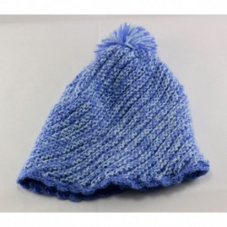 Childrens Blue Casual Knıtted Hat