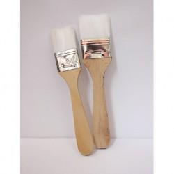 Fırça Seti 2'li Beyaz Kıllı