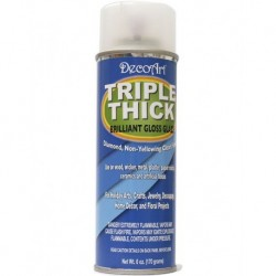 Triple Thick Brilliant Gloss Spray Lacquer Art Deco Glaze