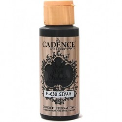Cadence Fabric Painting F-601 Black