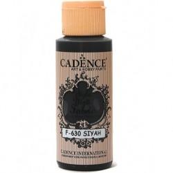 Cadence Kumaş Boyası F-630 Siyah 59ml