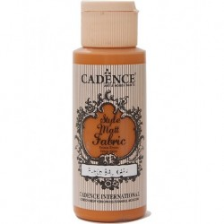Cadence Fabric Painting F-606 Pumpkin