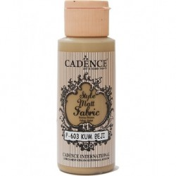 Cadence Fabric Painting F-603 Sand Beige 59ml