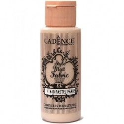 Cadence Fabric Painting F-610 Pastel Pink 59ml
