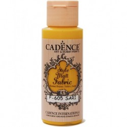 Cadence Fabric Painting F-605 Yellow 59ml