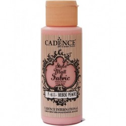 Cadence Fabric Painting F-611 Baby Pink 59ml