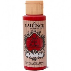 Cadence Fabric Painting F-609 Strawberry 59ml