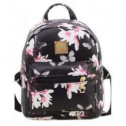 Vintage Small Flower Patterned Backpack