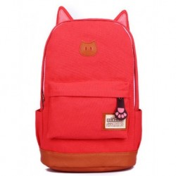 Cat's Backpack Red Color