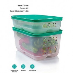 Tupperware Greenhouse Set 2