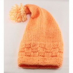 Baby Knitted Orange Hat