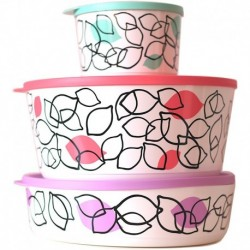 Tupperware Laminated Storage Set