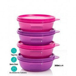 Tupperware Candy Containers Set of 4