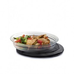 Tupperware Crystal Service Tables 1.3Lt