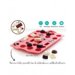 Tupperware Miracle Mold Chocolate