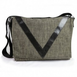 Ve Design Horizontal Postman's Bag Green
