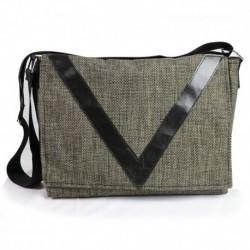 Ve Design Horizontal Postman's Bag Green