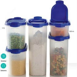 Tupperware Oval 5'li Set