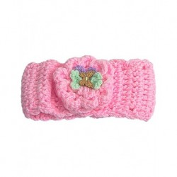Baby Hair Band In Pink With Butterfly