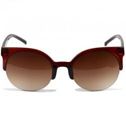 Gotihic Steampunk Cat Model Brown Sunglasses