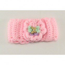 Pink Butterfly Baby Headband