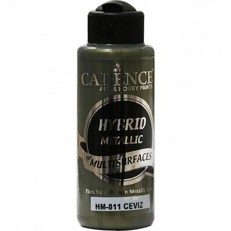 Cadence Tüm Yüzeyler İçin Metalik Boya HM-811 Ceviz