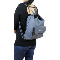 Akıllı Çanta Mavi Kot Rengi