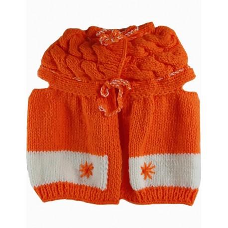 a3975f20c Baby Vest In Orange And White - MODAMOT E-Ticaret