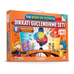 Attention Strengthening Set Age 6 Neuro-Via Sistem