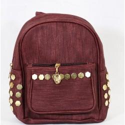 Stapler Backpack Bordeaux Coloured